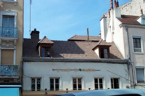 Dachówka ceramiczna ARBOISE Rectangulaire Jacob - Chevreuse