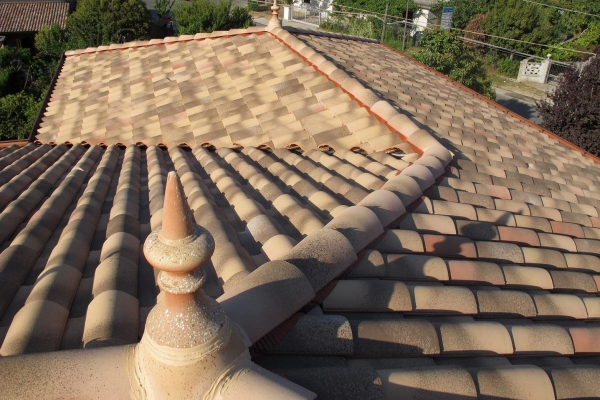 Dachówka ceramiczna Plein Sud Gelis - Emporda