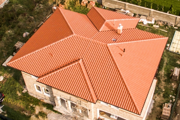 Dachówka ceramiczna Plein Sud Gelis- Rouge