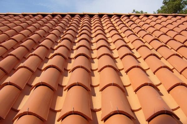 Dachówka ceramiczna Canal Gironde (mnich-mniszka) -Rouge