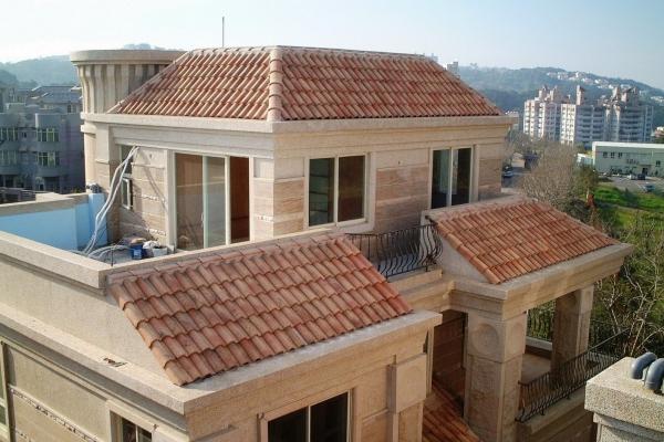 Dachówka ceramiczna Canal Gironde (mnich-mniszka) - Paysage