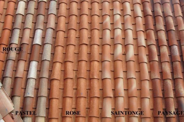 Dachówka ceramiczna Canal Gironde (mnich-mniszka) - Ekspozycja