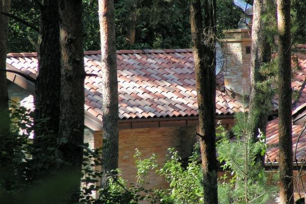 Dachówka ceramiczna Canal Gironde (mnich-mniszka) - Mieszana