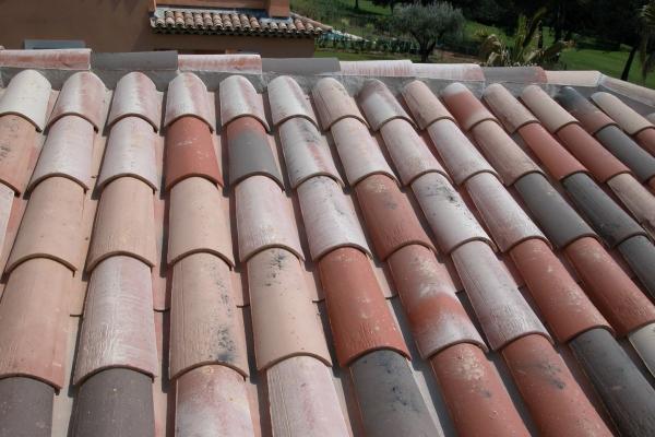 Dachówka ceramiczna Canal Gironde (mnich-mniszka) - Rethaise