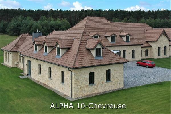 Dachówka ceramiczna Alpha 10 - Chevreuse | Edilians-Zamarat