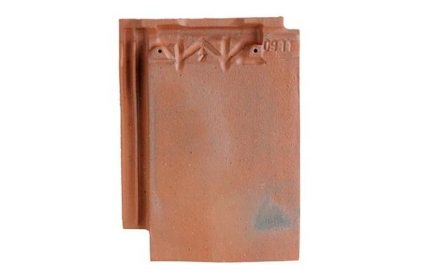 Dachowka ceramiczna ARBOISE RECTANGULAIRE - Rouge Ancien   Edilians-Zamarat